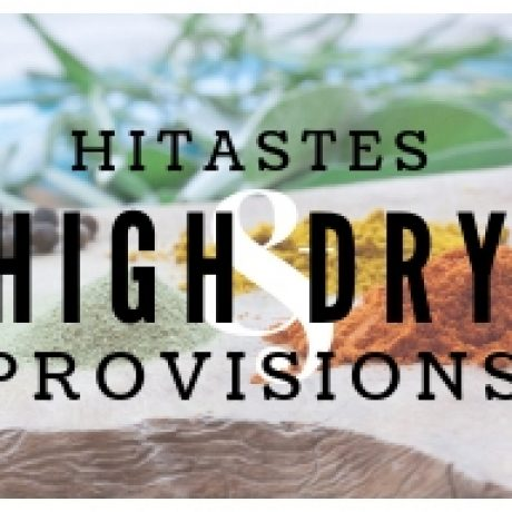 "COMING SOON: ""HIGH & DRY PROVISIONS"" RECIPES"