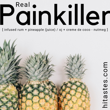 CANNABIS INFUSED RUM PAINKILLER