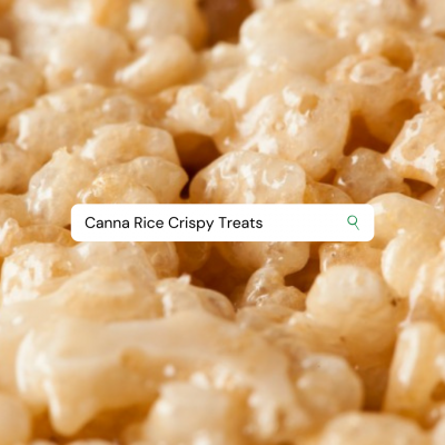 CANNA RICE CRISPY TREATS