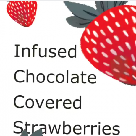 INFUSED CHOCOLATE COVERED STRAWBRRIES 🍓🍫
