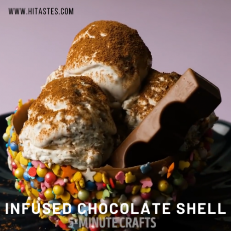 5 MINUTE CANNA INFUSED CHOCOLATE SHELL BOWL